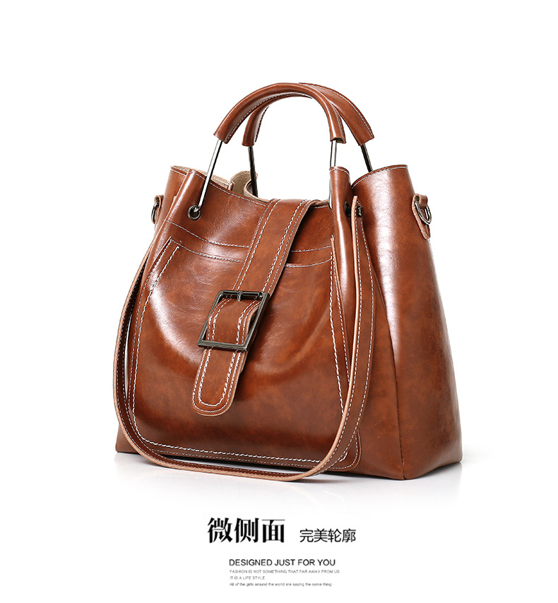 Wholesale Designer genuine vintage tote women handbags