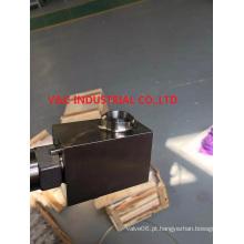 Válvula de agulha de aço inoxidável com extremidade de solda a topo
