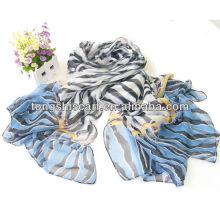 lenço da zebra-listra da forma