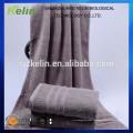 barato toalla de baño teñida llana material de algodón 100%