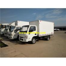 Vehículos de furgoneta refrigerada de gasolina Yuejin