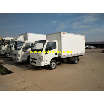 Yuejin Gasoline Refrigerated Van Vehicles