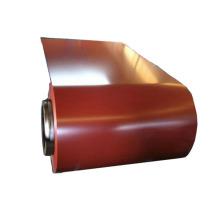 Bobina de acero galvanizado prepintado recubierto de color