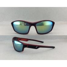 2016 Ventas calientes y estilo de moda de las gafas para las gafas de sol de los deportes de los hombres (P10007)