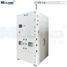 Sistema de recolección de polvo industrial de alto flujo de aire
