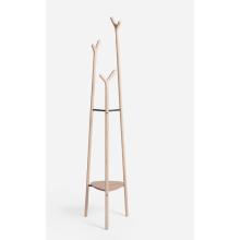 popular perchero de madera de tipo vertical
