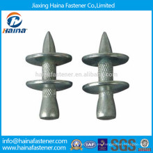Clavijas de accionamiento NK / Clavos de acero ZP con arandela