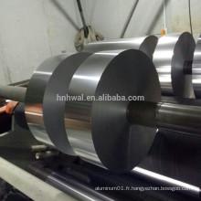 Papier d'aluminium prix emballage alimentaire