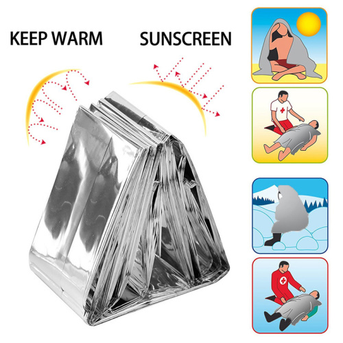 Selimut Luar Kit Mylar Emergency Space Selimut