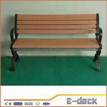 Cubierta compuesta plástica de madera sólida al aire libre del banco de WPC de la alta calidad para la venta