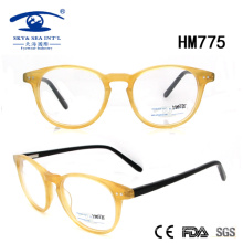 New Arrival Hot Woman Popular Acetate Optical Frame (HM775)