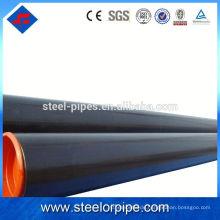Hochwertiger Rundschnitt ASTM Standard nahtloser Stahlrohrlack Oberflächenbehandlung