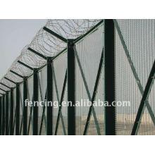 12.7x76.2mm Haute sécurité soudé clôture / panneau