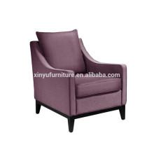 Hotel reception room furniture arm sofa chair XYD223