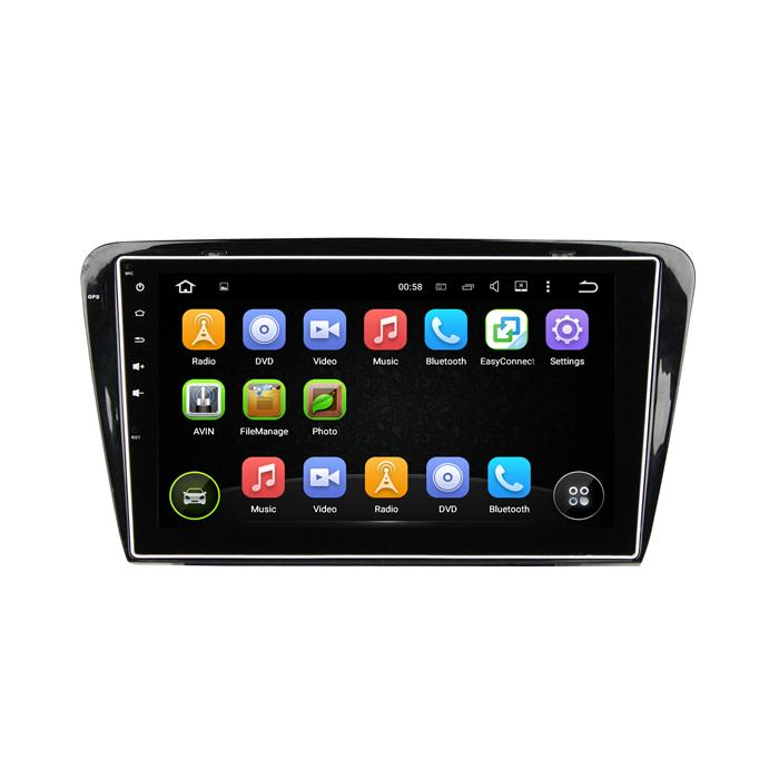ANDROID CAR RADIO FOR OCTAVIA 2015