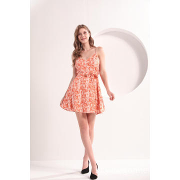 Flare Mini Cami Slipdress
