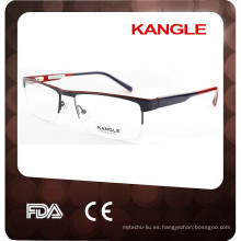 2015 hotsell unisex con bisagra de muelle acetato superior con gafas de metal 2015