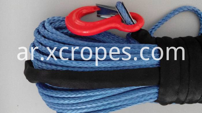 Winch Rope Blue