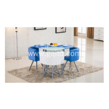 Morden Round Glass Coffee Table Sets