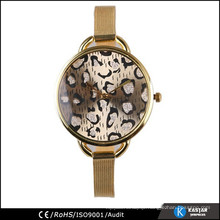 fancy dial face plated gold watch lady, ladies wrist watch