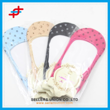 manufacturer bulk pure color dot invisible socks custom logo cheap price