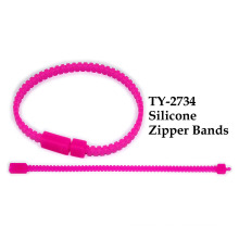 Silicone Zipper Bands Toy