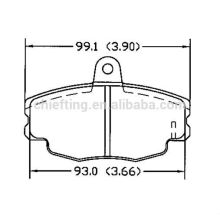 D292 for Opel Renault Peugeot car spare parts front brake pads