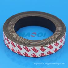 Bandes magnétiques autocollantes à 25 mm de type souple