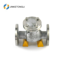 JKTLPC078 adjustable loaded forged steel flow control supply check valve