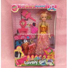Custom Printing Plastic & Paper Folding Box for Barbie toys (gift boxes)