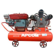 Comprensora compresor de aire 110 30 hp compresor para mineria pintar autos estacionario diesel
