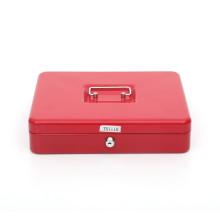 2020 Cheap Cash Box 10 inch  Portable Cash Transfer Drawer Safe Box Security Cashier Cash Box