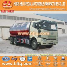 FAW J6M 6x4 20000L Vakuum Saugtankwagen FAW Dieselmotor 280hp