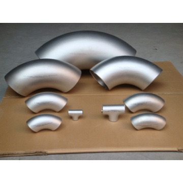 SCH80 JIS Butt Weld Acier inoxydable Short Radius Elbow