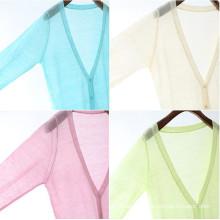 15PKLS14 2015 100% pure Spring Summer women dress linen cardigan