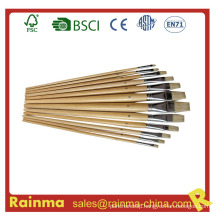Paint Brush with Wooden Barrel