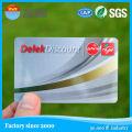 Размер кредитной карты Пластиковые визитки с быстрой доставкой