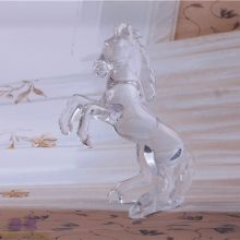 Hand Made Decorative Crystal Glass Horse