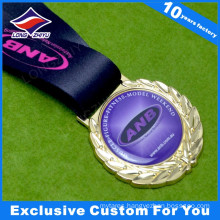 Wholesale Blank Metal Medal with Epoxy Your Logo