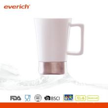 Nuevo llega la taza de café de cerámica de encargo de la alta calidad