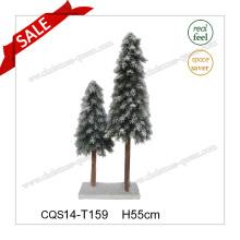 H55cm Plástico Decoración de Navidad Suministros Tipo Árbol de Navidad