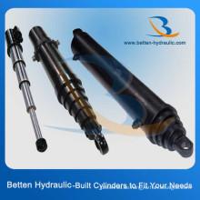 Edelstahl-Einzel-Teleskop-Hydraulikzylinder