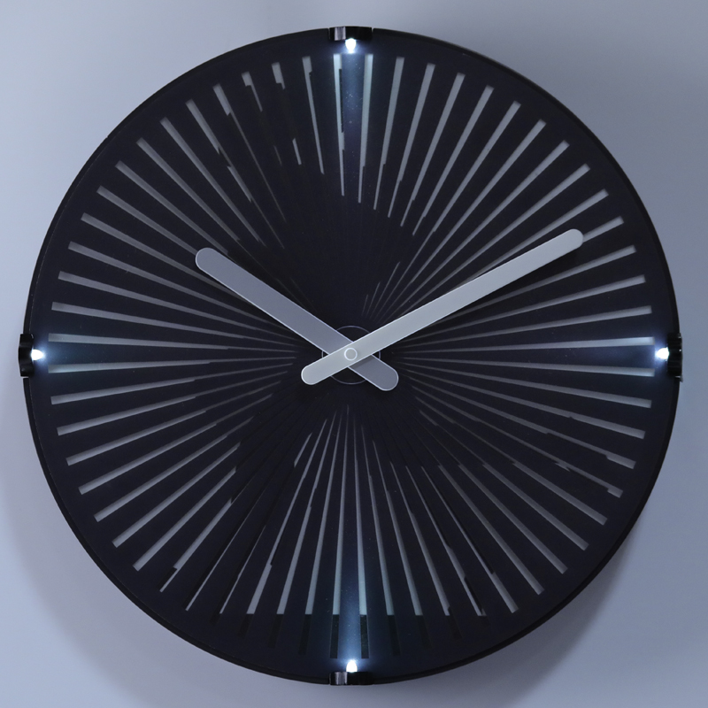Animated Clock With Light