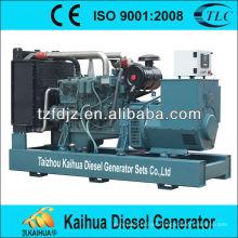 160kw Daewoo tipo silencioso grupos electrógenos diesel