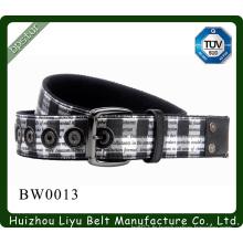 2015 cravate de ceinture hommes avec rivets boucle de broche à la mode