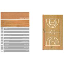piso de basquete barato Enlio interno