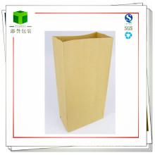 Bolso de papel inferior cuadrado de la ingeniería química