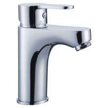 Contemporary Bathroom Brass Basin Mixer
