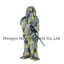 Militares do projeto da floresta camuflam o terno de Ghillie (HY-C002)