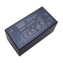 MEANWELL 1w a 60watt AC / DC encapsulou o tipo fonte de alimentação 5vdc 4a IRM-20-5 do quadro aberto